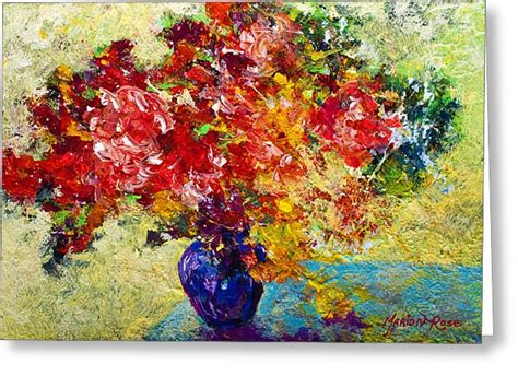 Abstrak Floral 1 abstract floral 1 painting by marion