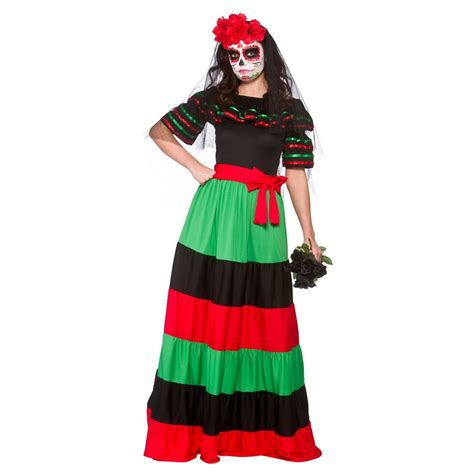 Premium Mixco Dress new day of the dead mexican muertos skeleton