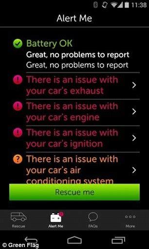 green flags  blackbox texts    car    break  daily mail