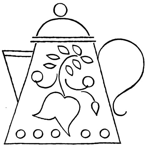 teapot coloring page teapot coloring page coloring home