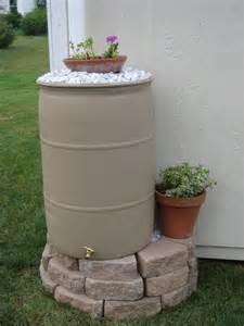 How To Make Your Own Patio Pavers Diy A Texas Sized Rain Barrel Life S Joy Photography