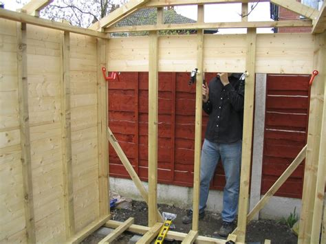 how to build own house building a shed