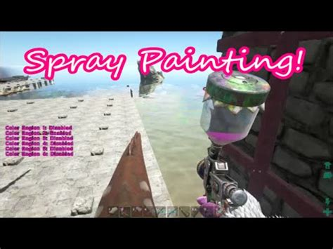 spray painter ark xbox one how to use the spray painter on ps4 doovi