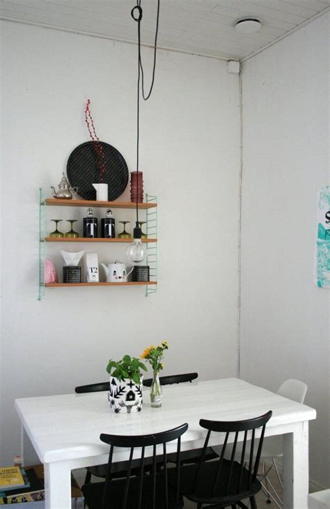 bright quirky square foot helsinki loft dining rooms home house tours house design