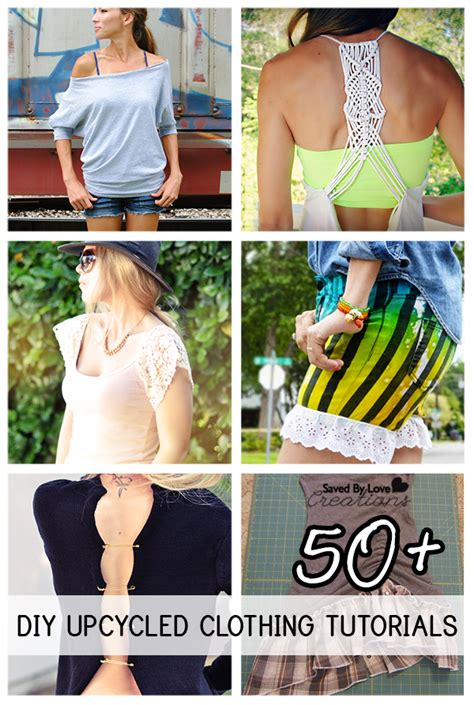 ways to upcycle clothes 50 plus awesome ways to upcycle clothing