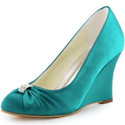 teal shoes get cheap teal wedding shoes
