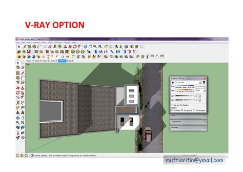 vray sketchup video tutorial part 1 sketchup texture tutorial v ray for sketchup night scene 1