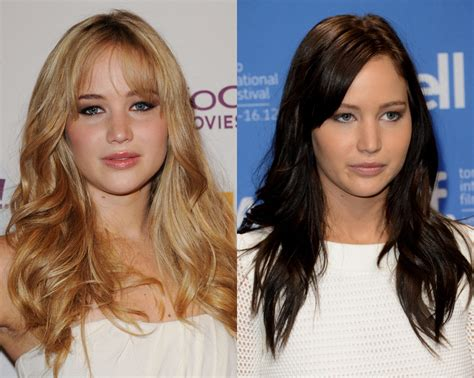best brown over the counter hair dye jennifer lawrence miley cyrus lady gaga and more stars