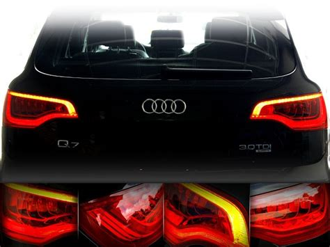 audi q7 led lights led rear lights for audi q7 retrofit