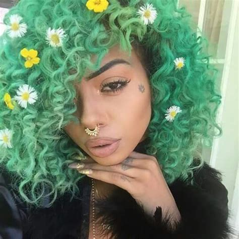 green hairstyles 919 best blue green hair images on pinterest beautiful
