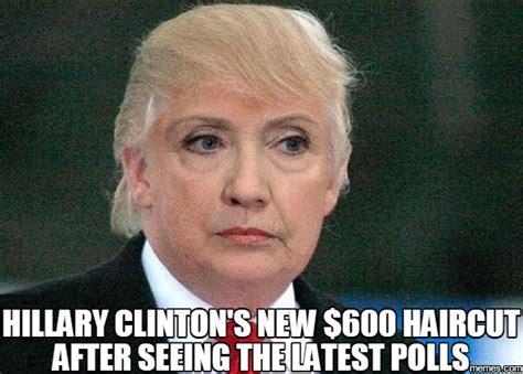 Hilary Clinton Meme - liberal rag slate resorts to photoshopping troll hair on