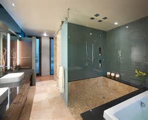 Modern Bathroom Glass 30 Great Bathroom Glass Tile Photos And Pictures