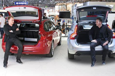 Bmw 3er 2019 Kofferraumvolumen by Bmw 3er Touring Gegen Volvo V60 Auf Der Ami 2012 Autobild De