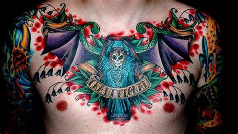 chest tattoo exles 13 striking exles of chest tattoos for men my style
