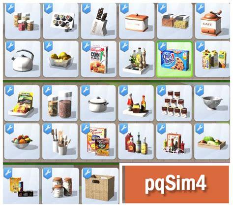Pantry Set by Pantry Set At Pqsims4 187 Sims 4 Updates