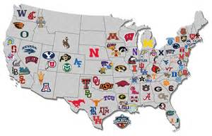 map of colleges in map of the day us college hoops map via nissanultimateacces