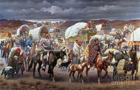 the trail of tears by granger