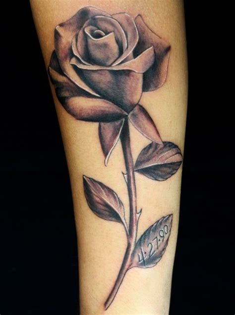 single black rose tattoo tattoos on the arm iwrnqwvu tattoos