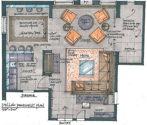 interior floor plan design designer candice olson transforms an overworked basement