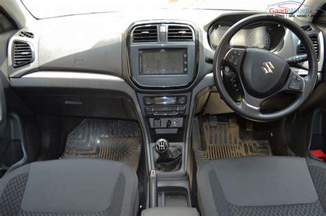 suzuki interior maruti vitara brezza price specs features review