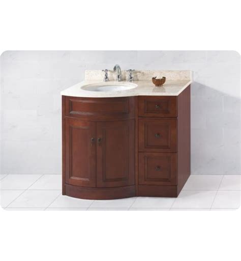 left side sink bathroom vanity ronbow 060624 621212l f13 marcello 36 quot bathroom vanity set