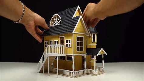 Bau Eines Hauses by Der Bau Eines Hauses Aus Eis Stielen