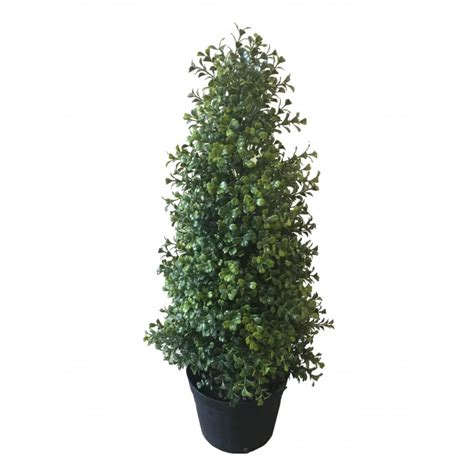 2ft 60cm beautiful black tree best artificial 2ft 60cm potted boxwood topiary tree