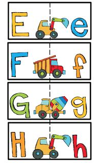 Education Card Transportation preschool printables alphabet cards matching and lower letters education for