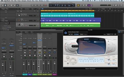Online Tutorial Logic Pro | logic pro x tutorial working with reverb space designer