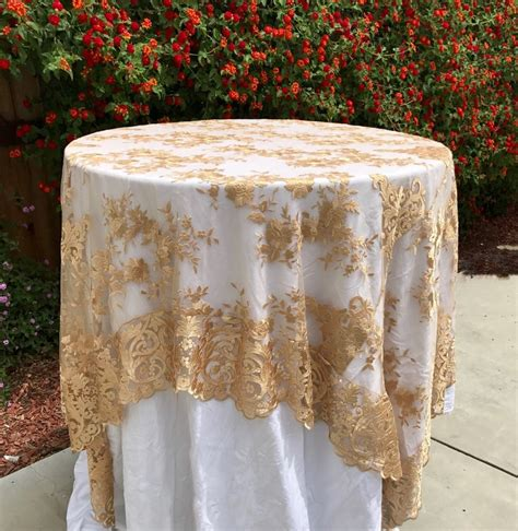 gold table overlay best 25 gold tablecloth ideas on gold glitter