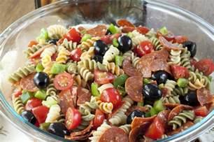 pasta salad italian dressing classic italian pasta salad wishes and dishes