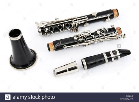 Clarinet Buffet B12 Buffet Cron B12 Student Clarinet Stock Photo Royalty