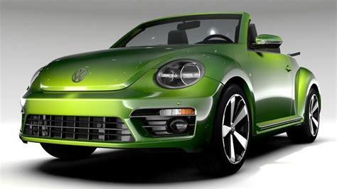 volkswagen models 2018 vw beetle convertible turbo 2018 3d model cgtrader