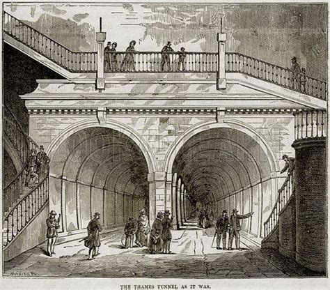 thames river tunnel 17 best images about isambard kingdom brunel on pinterest