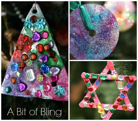 easy christmas ornaments for preschoolers happy hooligans