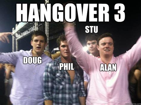 Hangover Meme - the hangover 3 memes www pixshark com images galleries