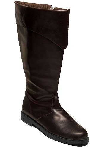 mens costume boots mens brown costume boots jedi boots