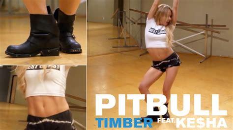 tutorial dance mandy jiroux pitbull ft ke ha timber dance tutorial youtube