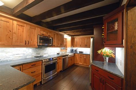 Kitchen Cabinets Bolton by Adirondack Cabin Kitchen Remodel In Bolton Landing New
