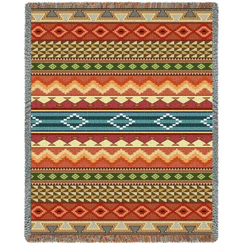 southwest rugs and blankets southwest stripe blanket