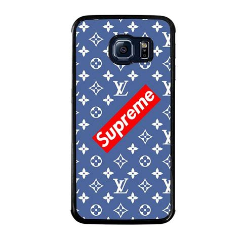Casing Samsung S6 Edge One Luffy Custom Hardcase Cover new supreme pattern samsung galaxy s6 edge cover samsung galaxy s6 edge best custom