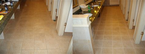 commercial bathroom flooring clean stain service groutworks