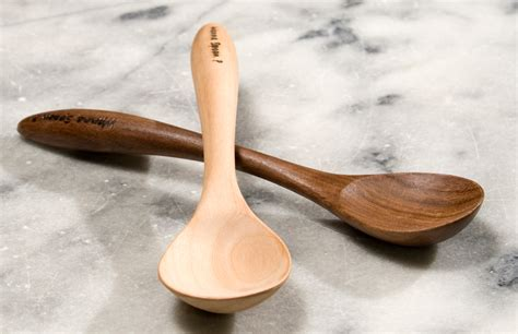 Handmade Wooden Spoon - handcrafted wooden spoons soup spoon