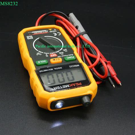 Multitester Mini Digital non contact mini digital multimeter dc ac voltage current