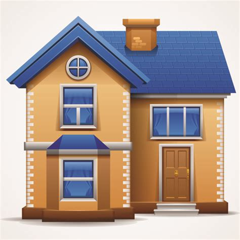 Home Design Vector Different Houses Design Elements Vector 02 Vector Other