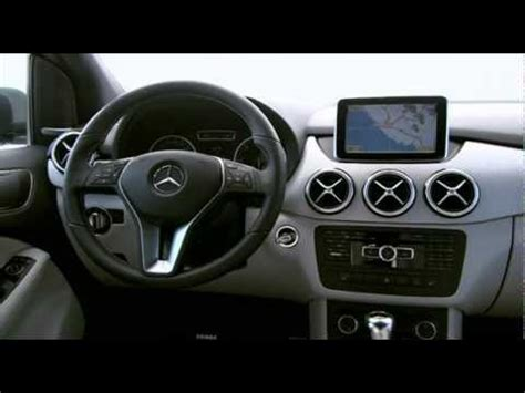 mercedes benz  class  interior youtube