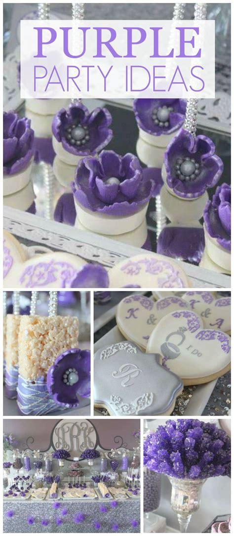 25 best ideas about purple birthday on