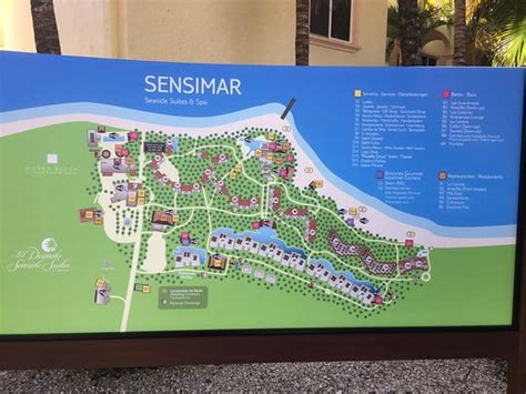 dorado resort map map of the area picture of el dorado sensimar riviera