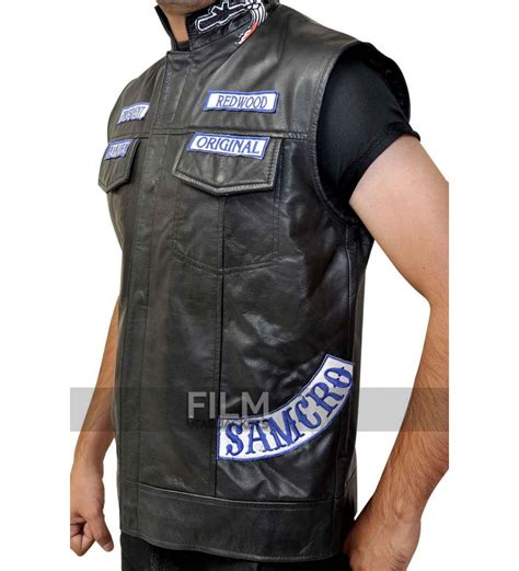 biker vest sons of anarchy jax teller biker vest with patches