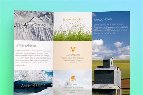 free brochure templates for mac 9 all templates deal